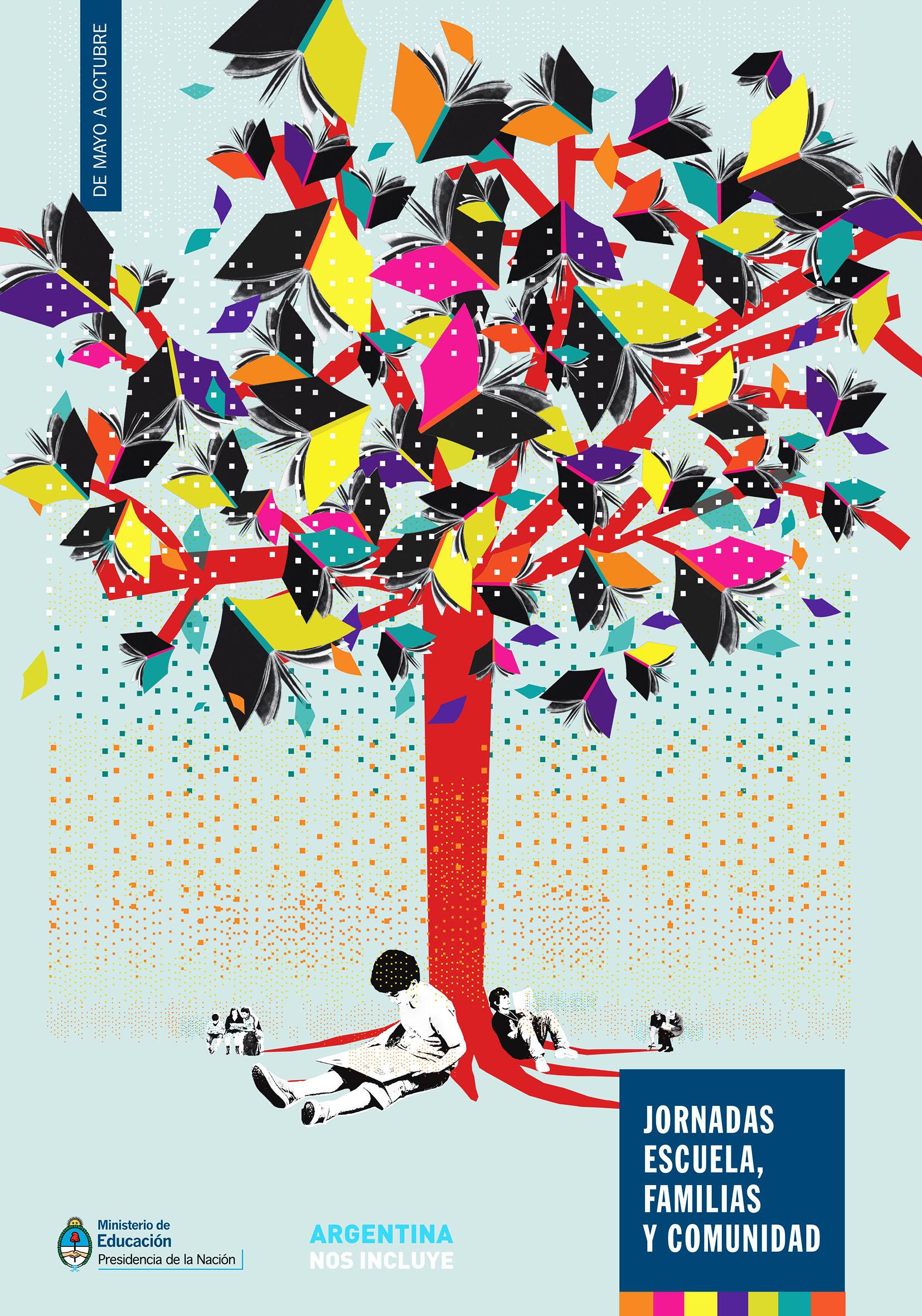 afiche árbol jornadas 2014