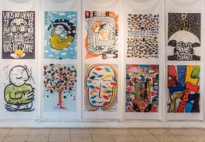 Hay dos mundos y están en este: Onaire Colectivo Gráfico y Natalia Volpe